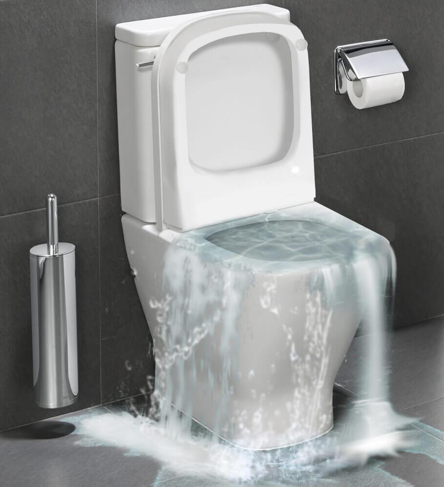 Prelivanje wc šolje - Vodoinstalater Vagner Beograd