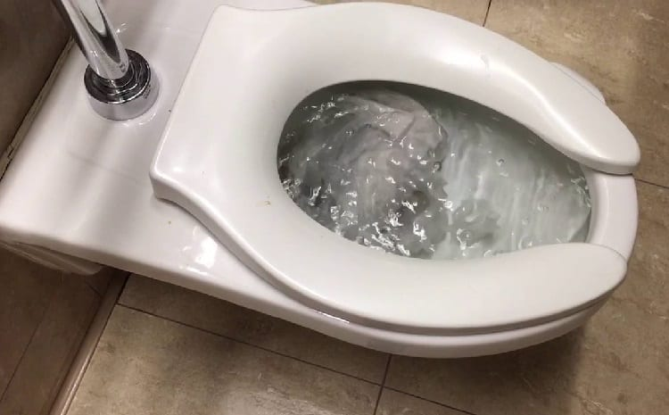 klokotanje wc solje slika